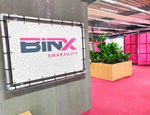 Innovatie hackathon BINX Smartility